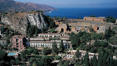 Theatre de Taormina Sicile