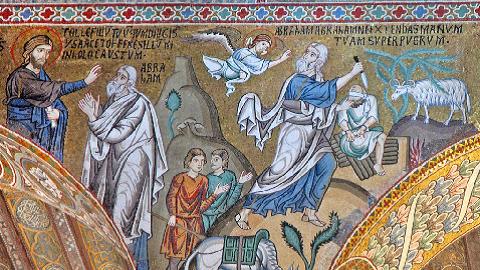 Mosaique Chapelle Palatine Palerme