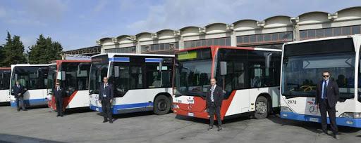 Serice de bus en Sicile