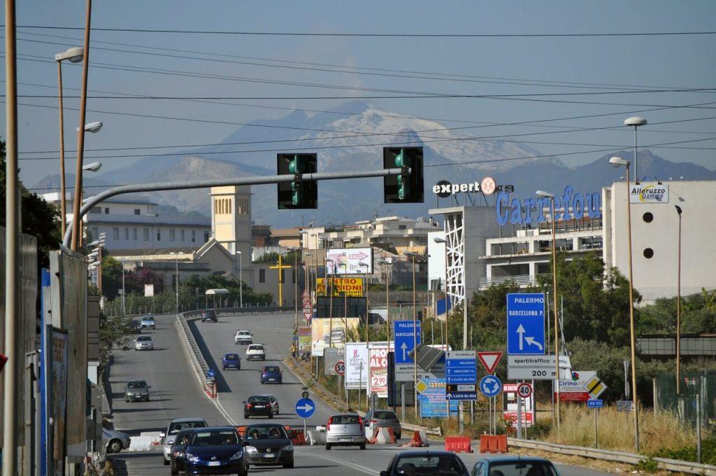 Route de l'Etna